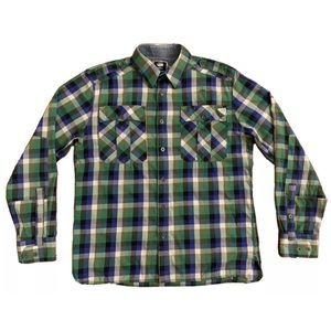 G-Star Raw Long Sleeve Shirt Steel Button Green XL